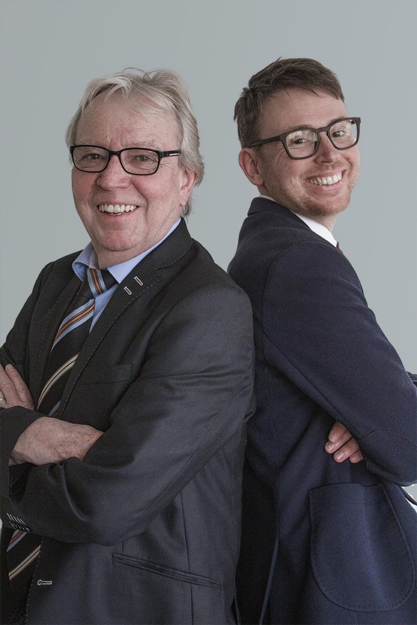 Herbert und Andreas Wiedmann